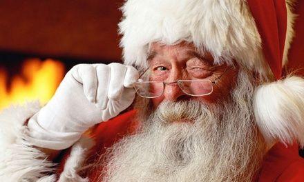 Gør barnets jul ekstra særlig i år med et personligt brev fra julemanden, der sendes med post fra den arktiske cirkel