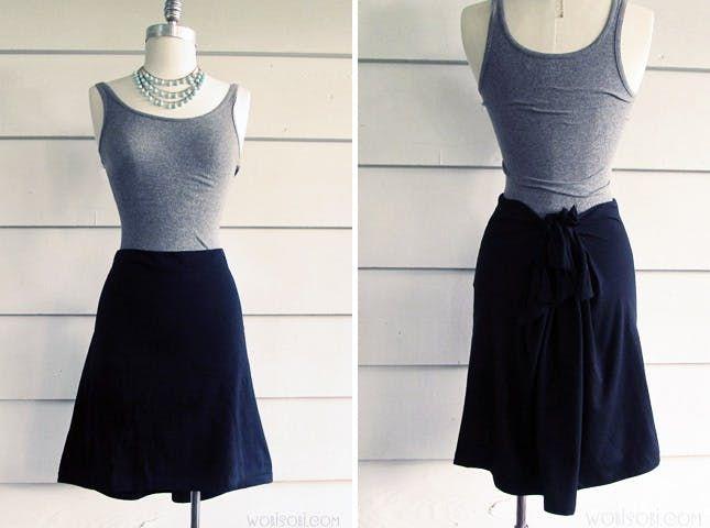10 Stylish No-Sew Skirts via Brit + Co