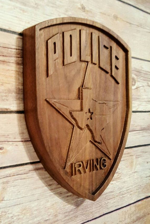 Irving Police Department, Gift, Promotion, Retirement, Back The Blue, Thin Blue Line.