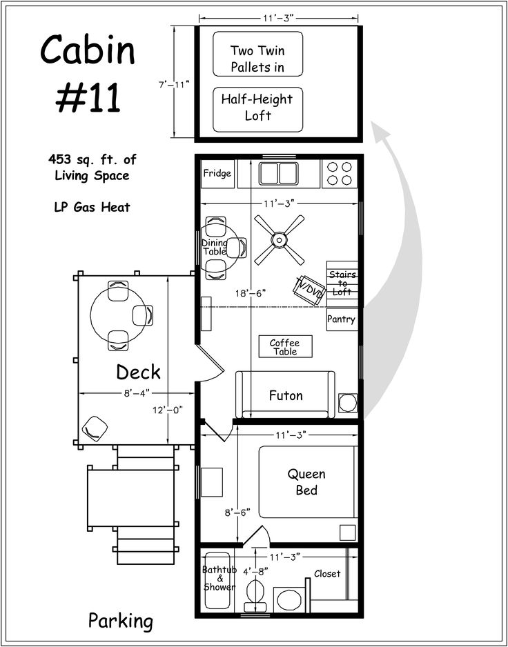 Cabin Floor Plans With Loft Archer 39 S Poudre River Resort