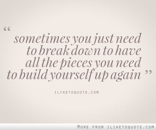 how to help someone with a breakdown