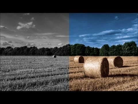 Colorize a Black and White Photo in Photoshop | IceflowStudios