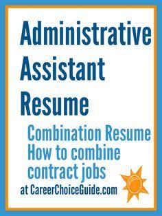 Temporary job resume