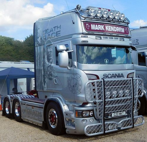 Mark Kendrew Scania R620 Death Race tractor unit | Richard Savory | Flickr