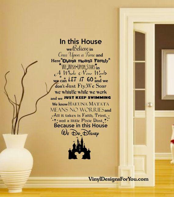 Best 25+ Disney wall decals ideas on Pinterest   Disney ...