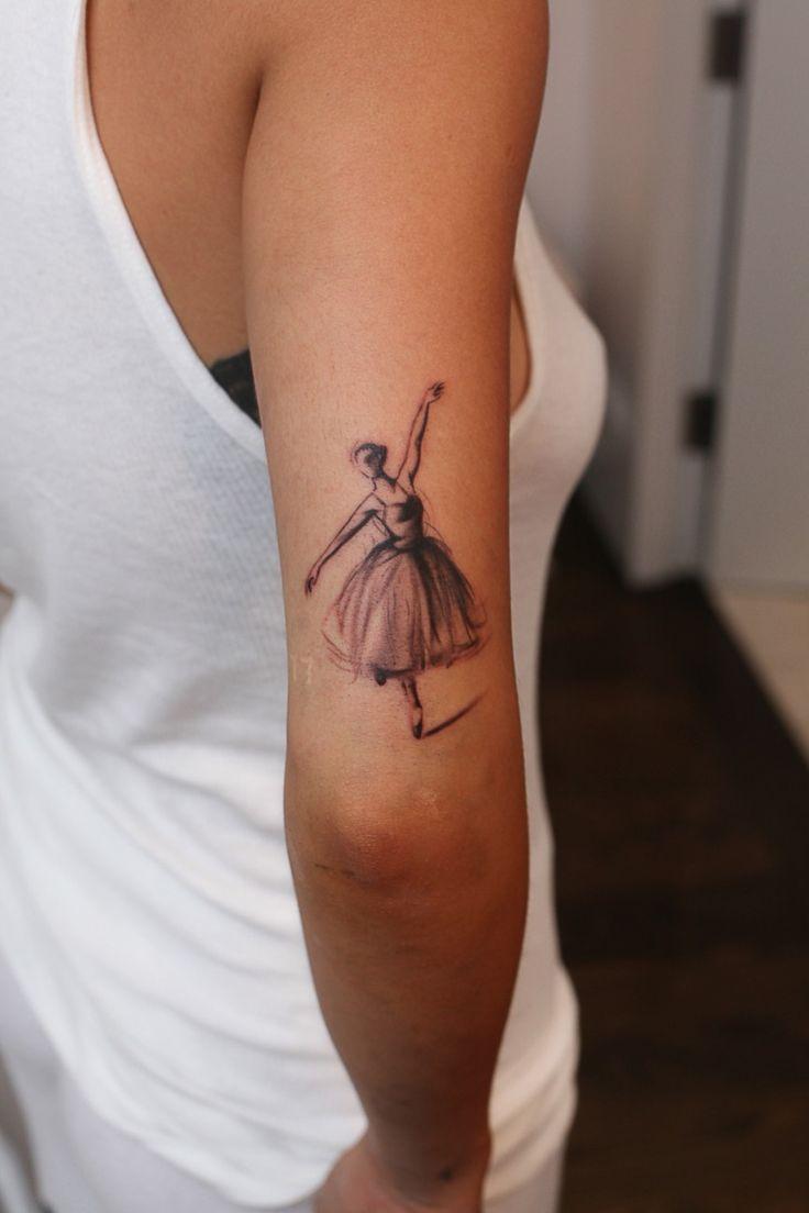 rita ora ballerina tattoo <3