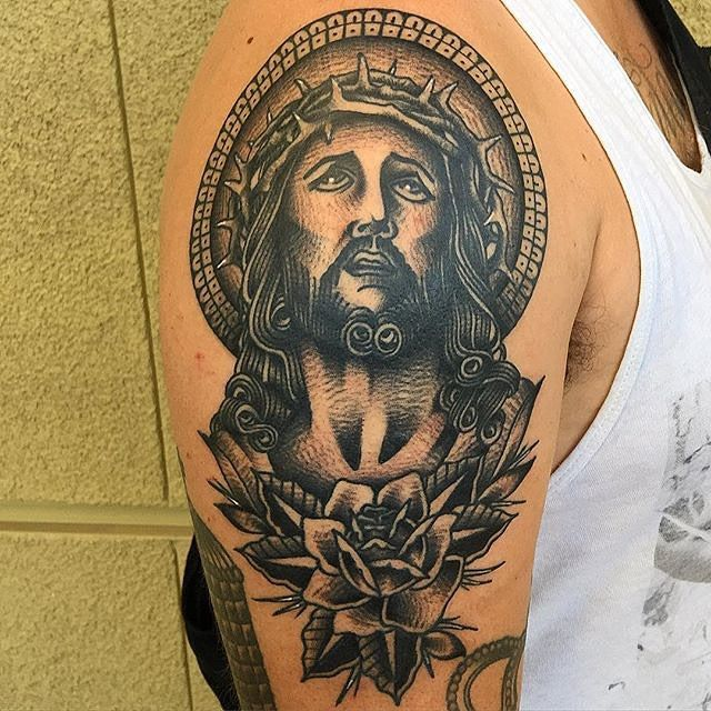 30+ Spiritual  Jesus Christ Tattoo designs and meaning - Find your Way Check more at http://tattoo-journal.com/25-best-photos-of-jesus-christ-tattoos/