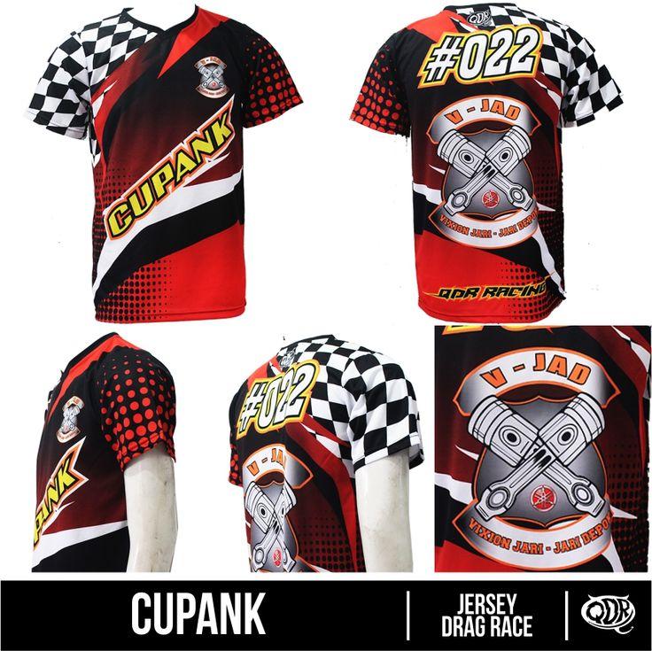 Jersey DHLS Dragrace custom-Cupank Bahan: dry-fit polyester Printing: sublimasi For order: BBM 543D3DBB Qdr Online Shop WA/LINE: 081222970120