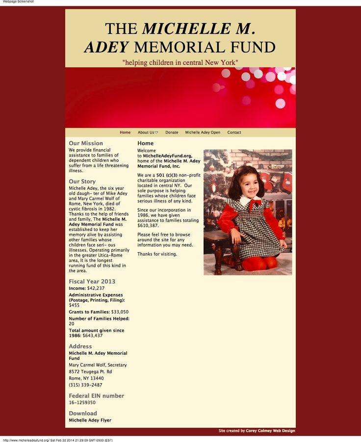 Michelle Adey Fund