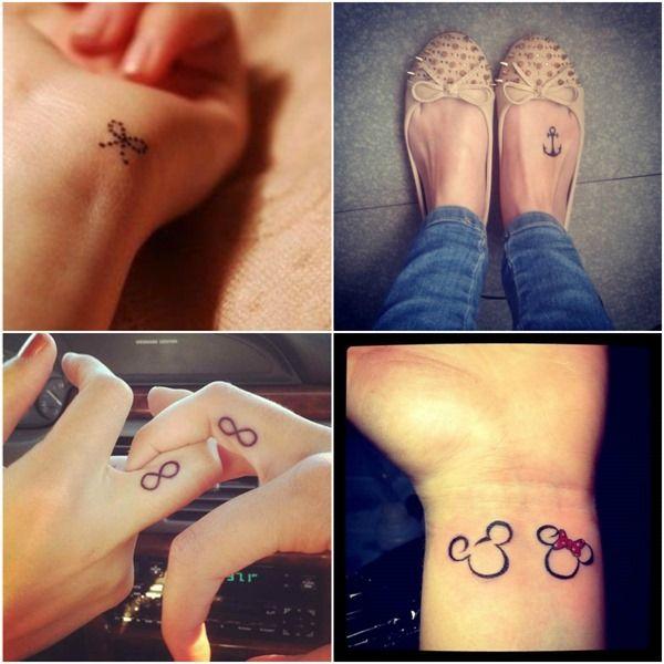 Tatuagens: Quem disse que tatuagens não pode ser fofa ?! >