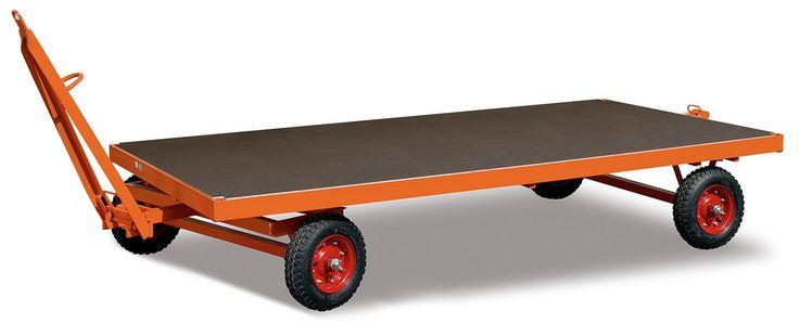 Industrie-Anhänger 2500 x 1250 mm, Luft-Räder, 1-Achser, 5t/5000 kg – – zu-1016