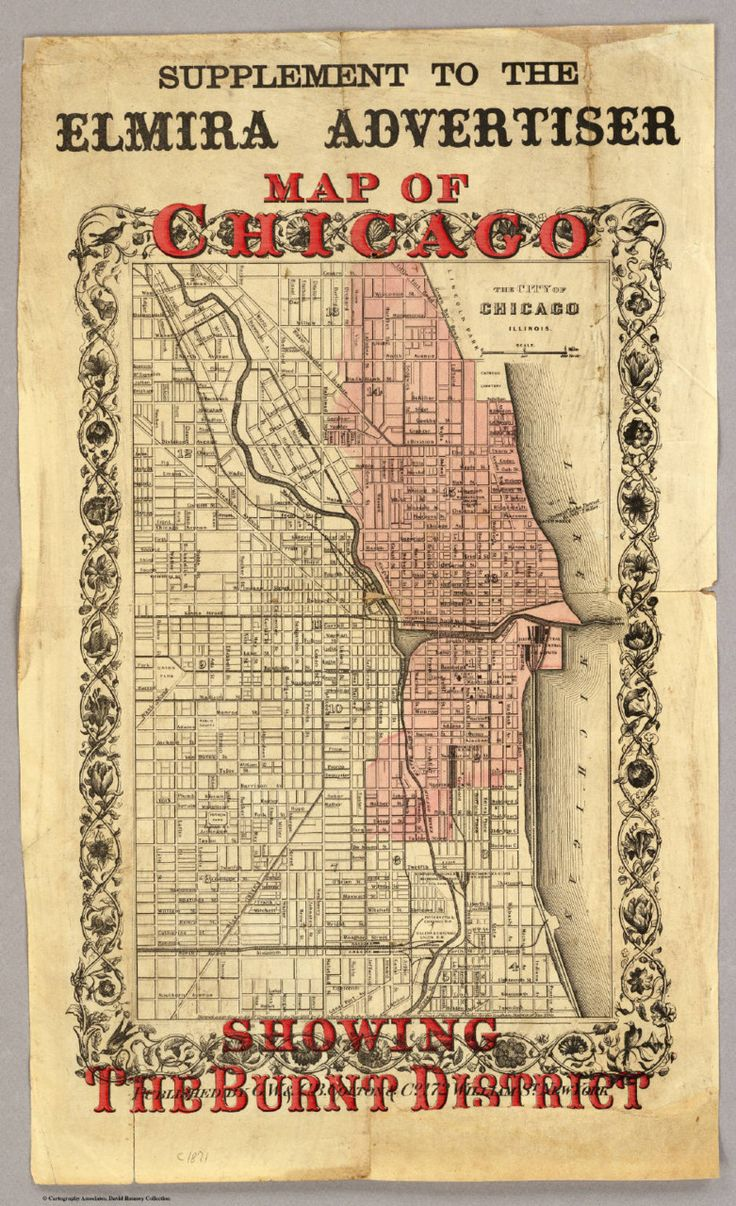 Best CFD Images On Pinterest - Chicago fire map