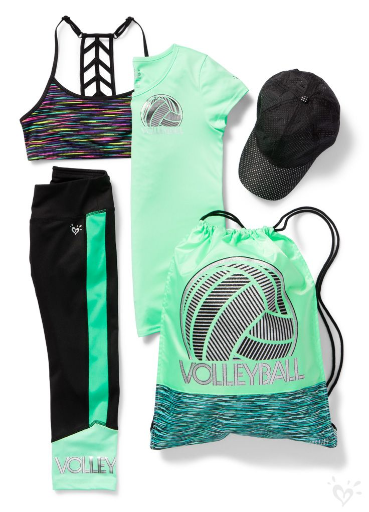 Serve, spike and win in our volleyball-ready activewear!