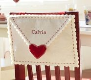 Cute Valentines Day chair cover