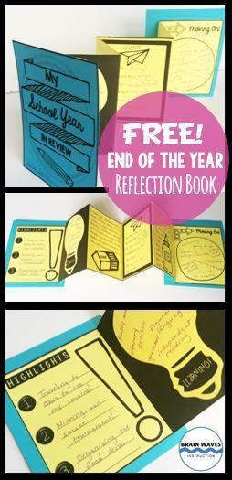 Free! Looking for a hands-on and fun end-of-the-year activity? Well, look no further! This end of the year lesson will not only help students practice the critical skill of reflecting, they'll also create an interactive accordion book to showcase their thoughts and ideas.