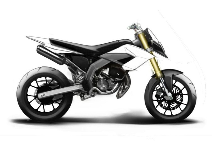 derbi senda drd evo 50 sm supermotard lateral blanco. Black Bedroom Furniture Sets. Home Design Ideas