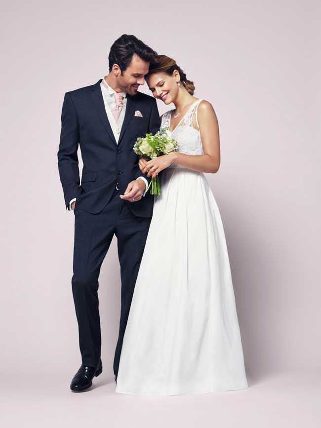 New BHS wedding collection helps brides on a budget. Abigail, £200