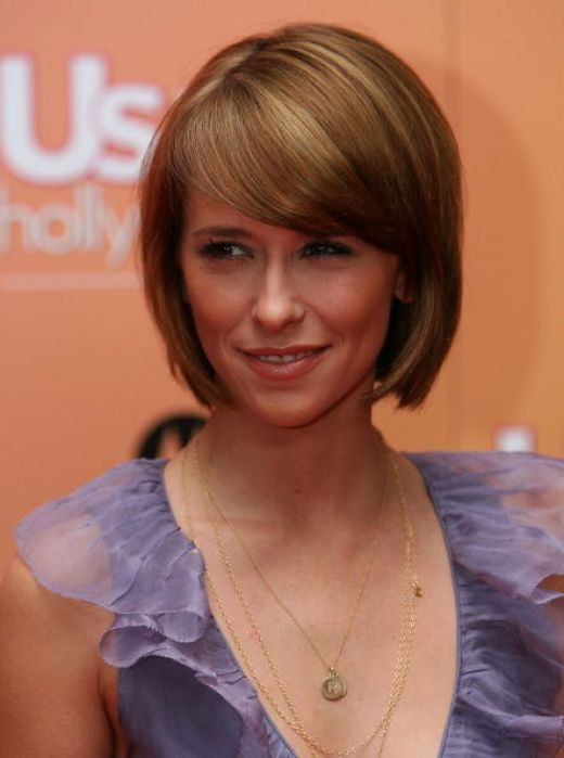 short bob with bangs | 2012 Short Bob Hairstyles With Side Swept Bangs