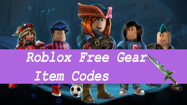 Roblox Login: Get Free Roblox Gear Codes | Roblox Games
