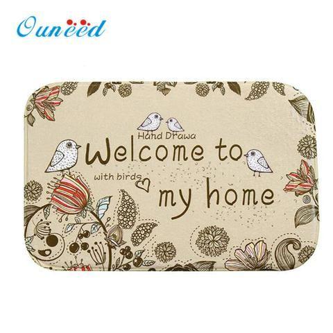 """""""Welcome to my home"""" Door Mat"""