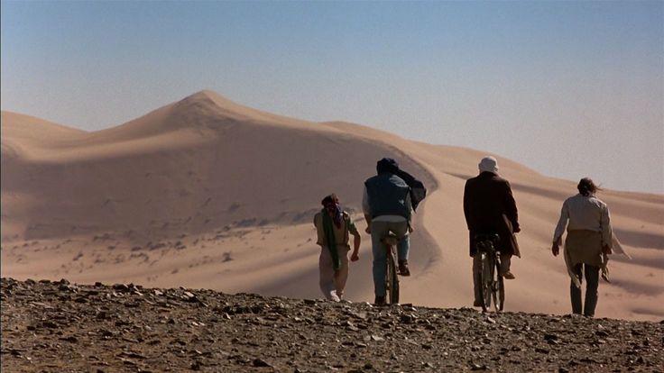 MARRAKECH EXPRESS   L'amicizia forte sentimento che fa #viaggiare in noi stessi.  Qui un gruppo di amici di vecchia data e' in viaggio verso il #Marocco per riscattare un amico incarcerato per possesso di droga. E' un grande classico della filmografia di Salvatores.