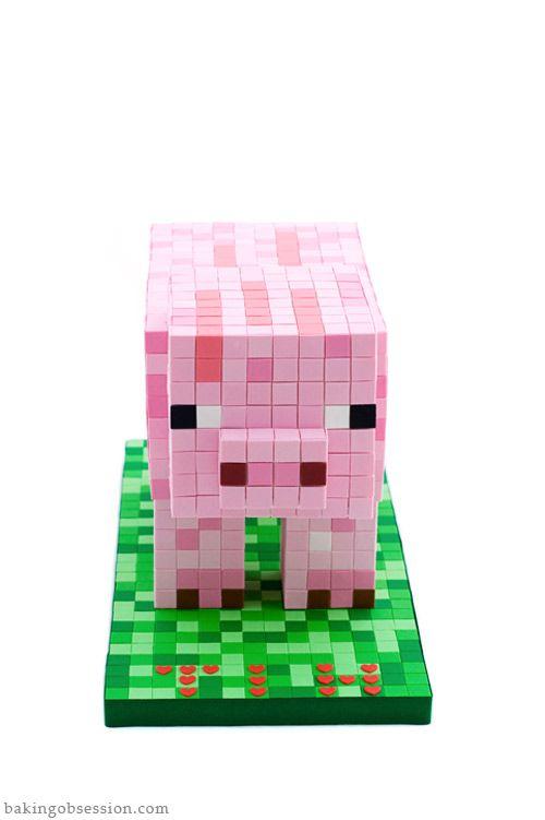 minecraft-pig-cake-tutorial