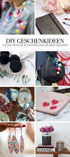 DIY Geschenkideen selber machen basteln DIY Blog lindaloves - DIY Geschenke für die Mama Schwester oder beste Freundin