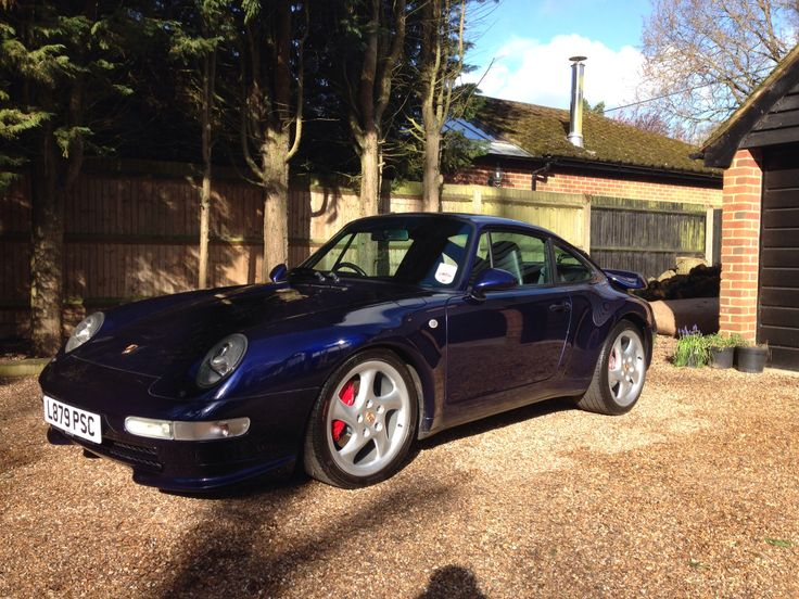 """1994 Porsche 993 Carrera 2 with RS Front Splitters, 18 """" Turbo Alloys and Turbo Rear Spoiler, 64000 miles"""
