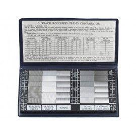 Mierky drsnosti povrchov, prenosné meradlo pre meranie drsnosti povrchu materiálov na porovnanie a stanovenie hladkosti povrchu