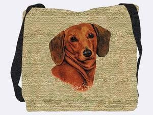 Dachshund Solo Tote Bag - 17 x 17 Tote Bag by Pure Country. $32.30. 100% cotton, a soft natural fiber. 17 x 17 inches. Woven, ensuring long life with little to no product degradation. Robert May dog tote bag. Save 46% Off!