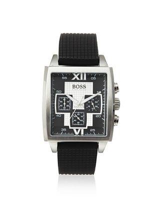 Hugo Boss Men's 1512442 Sporty Black Stainless Steel Watch