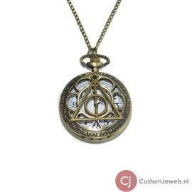 Harry Potter: Deathly Hallows horloge ketting