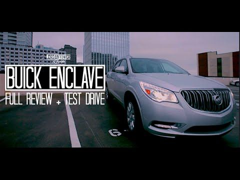 (394) 2015 Buick Enclave 3.6L V6 Start Up, Test Drive, and Review - YouTube