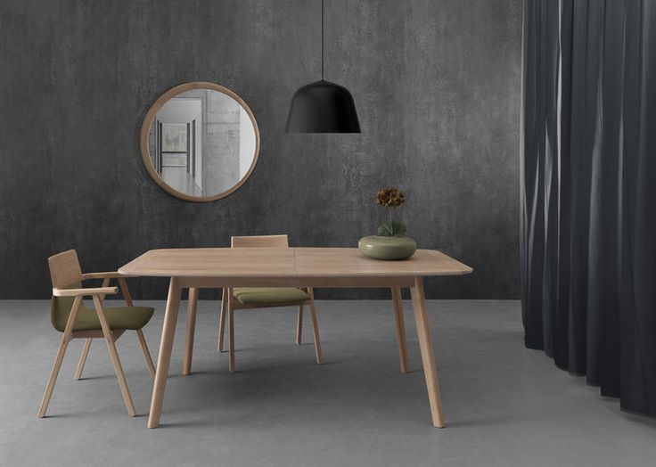 #Azores dinig table and #Luna mirror by #Wewood