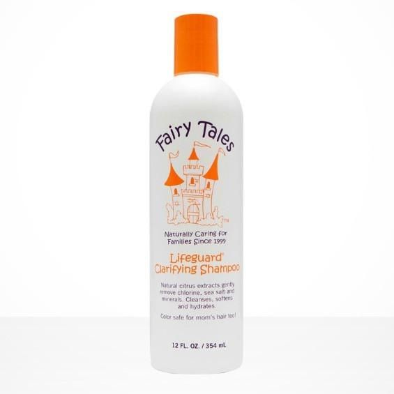 "Spotlights Deep clean sun damaged hair with natural fruit extracts!   Orange Flower, Grapefruit Extract and Lemon Peel gently remove chlorine ""green"" sea salts"