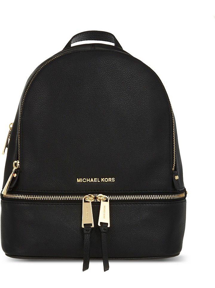 7638b98c78a4 MICHAEL MICHAEL KORS - Rhea medium leather backpack | Selfridges.com