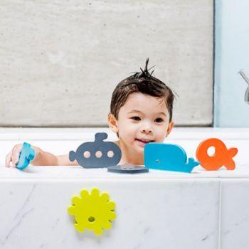 Piankowe zabawki do kąpieli Boon - Dive