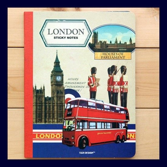 Sticky Notes - London from 7321 DESIGN