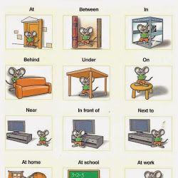 Introducción a las preposiciones en inglés