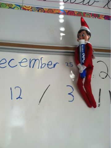 Lipstick, Lattes, and Lesson Plans: The Elf on the Shelf in the classroom