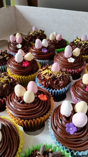 Easter cupcaked