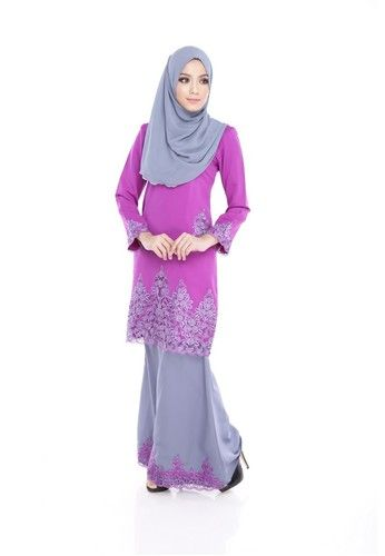 Maribeli Butik Jasmine Kurung - Purple from Maribeli Butik in Grey and Purple Jasmine Modern Kurung is the latest collections from MARIBELI BUTIK made of a very high quality, comfortable to wear, and very nice cotton material.- Perfect tailor made.- High quality cotton- Latest design- Suitable for all oc... #bajukurung #bajukurungmoden