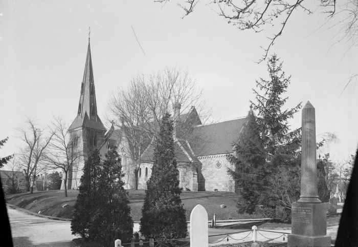 St. James' Anglican Cemetery, Parliament St., e. side, between Wellesley & Bloor Sts.; looking n.w. 1897