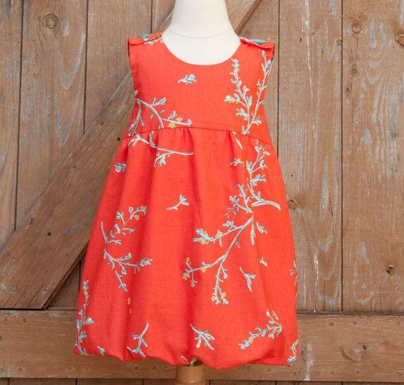 INSTANT+DOWNLOAD+Girls+Dress+Pattern+PDF+by+OliandLilyPattern,+$5.00