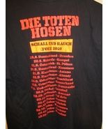 German 2010 Die Toten Hosen tour shirt , medium - $39.99
