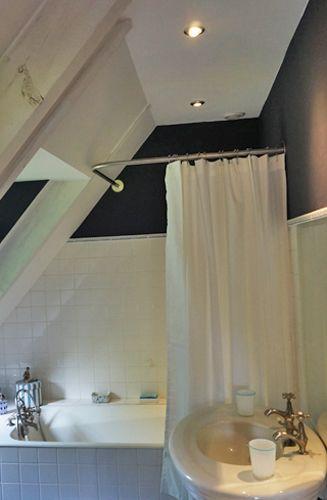 tringle rideau de douche angle sur mesure baignoire sous. Black Bedroom Furniture Sets. Home Design Ideas