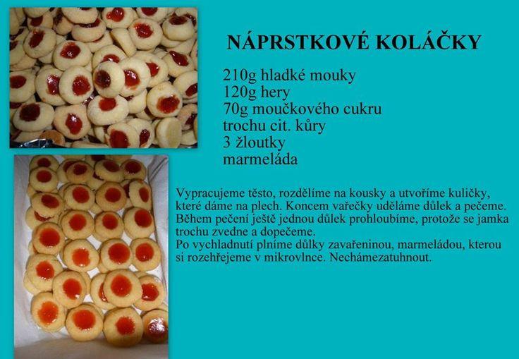 Néprstkové koláčiky