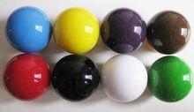 Colorido casino ruleta pelota 18mm