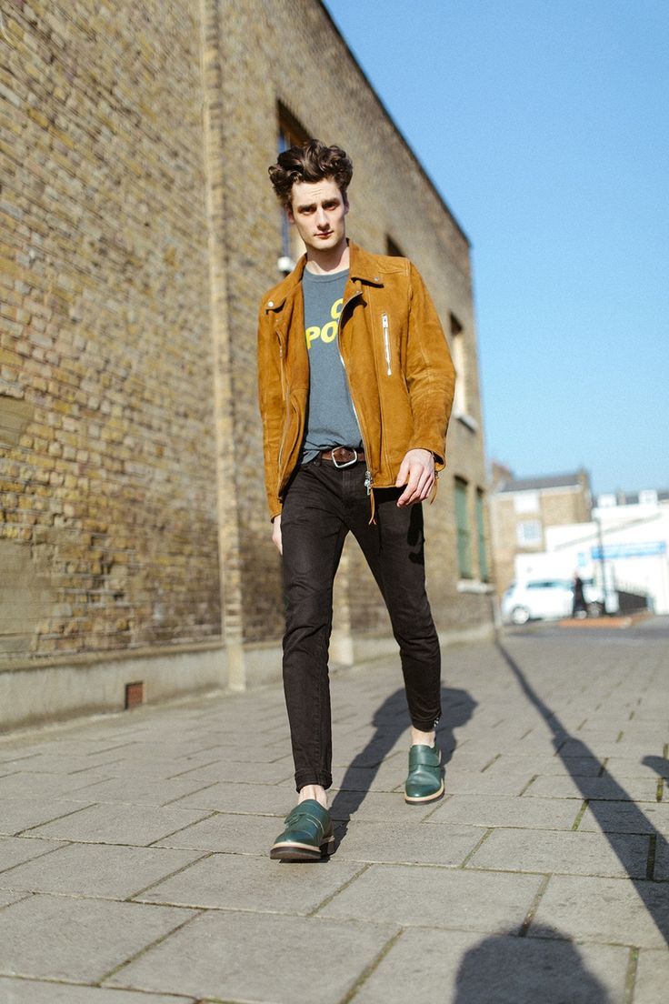 Stig 4 Bottle Green - Men's Shoes Brogues in Oak Tanned Leather from Swedish Brand Stig Percy