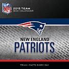 New England Patriots 2015 Desk Calendar: 9781469320526 | New England Patriots | Calendars.com